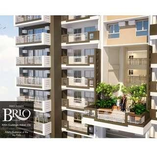 Brio Towers 1BR unit for sale in Makati near Ayala CBD