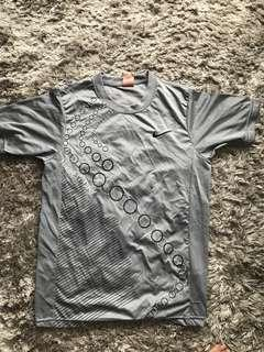 Nike dry fit grey shirt