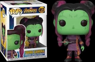 Funko Pop - Marvel Avengers 3 Infinity War - Young Gamora