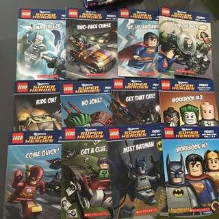 $5 for 12 LEGO DC book super heroes