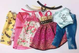 Barbie clothes and belt 🔥 SALE