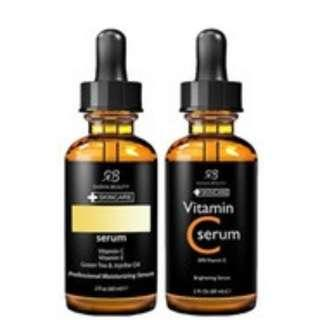 Vitamin C hyaluronic acid serum