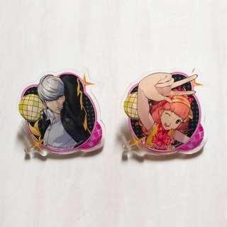 Persona 4 Dancing All Night - Acrylic Badges