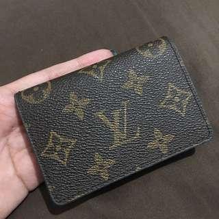 Louis Vuitton (Inspired) Card Wallet