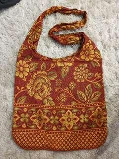 Gold and Red Native Bag