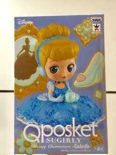 【DISNEY】日本正版全新未拆盒 Disney 迪士尼 Cinderella 最新下午茶系列 figure