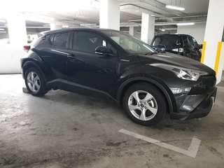 New Toyota C-HR Hybrid 1.8S A for rent