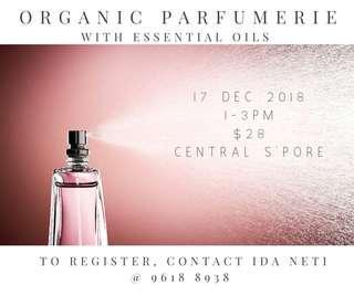 Organic Perfumerie with Essential Oils
