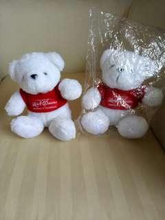 FA..ST DEAL🎄 🐻 Teddy Bears from Takashimaya, 2 nos