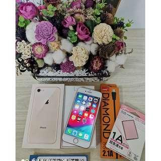 【強強滾3C】二手iphone8 64g 金(已過保)#20875