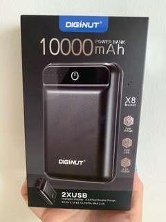 10,000 MAH Power bank Diginut X8