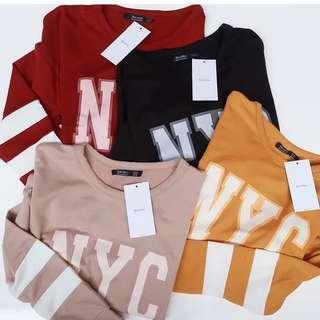 NYC Sweater Bershka