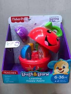 BNIB Fisher-Price learning happy apple