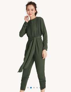 Pomelo green jumpsuit