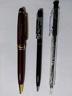 3 lucky ball point pen