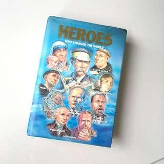 Heroes who changed the book Hardcover Book #MY1212