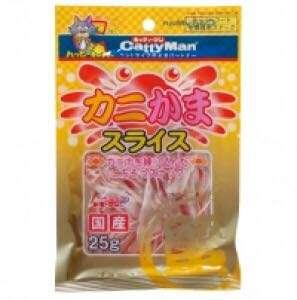 (5 for $24) Cattyman Crab Slices 25g