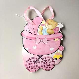 Baby Girl gift bag #MY1212