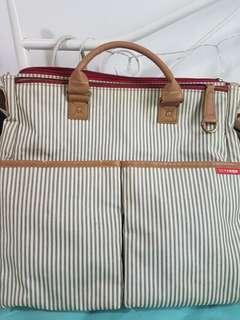 SKIP HOP duo special edition diaper bag - french stripes