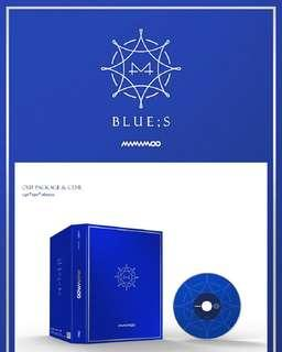 MAMAMOO-Blue;S [8th Mini Album]