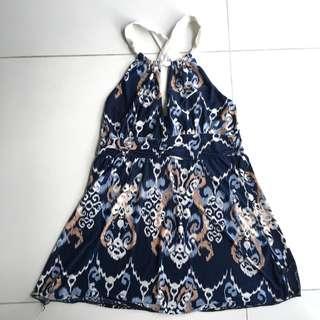 Bebe Printed Dress #MY1212