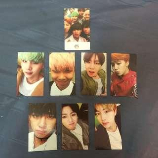 BTS HYYH PT2 UNOFFICIAL PHOTOCARDS