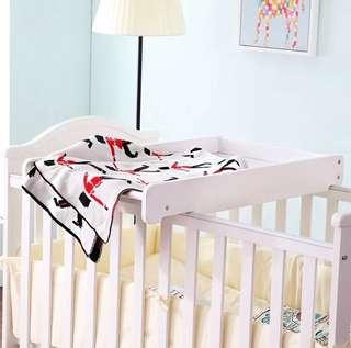 Baby changing table - can be put on a crib