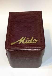 Vintage Mido Watch Box