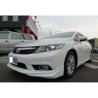 2013年 Honda Civic K14 配備俱全 實車實價 誠信買賣 帥車快來搶購
