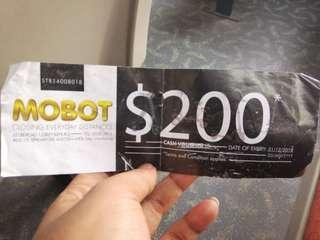 Mobot $200 voucher