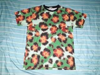 "Kenzo ""Paris Leopard"" Print All Over T- Shirt"