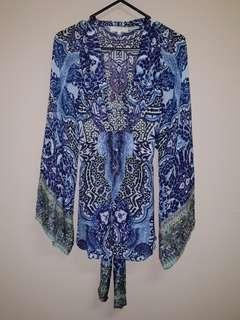 Camilla Bell Sleeve Kaftan Top