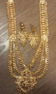 🚚 Gold plated Jewellery Set