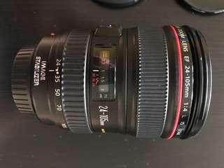 Canon 24/105mm IS USM L LENS