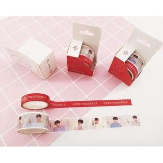 BTS LOVE YOURSELF LY TOUR WASHI TAPE
