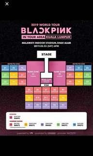WTB blackpink tour blink zone