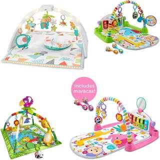 🚚 [Pre-order] Fisher-Price Play Gym, Multiple Designs Available