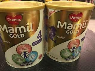 850g Dumex Mamil gold stage 4