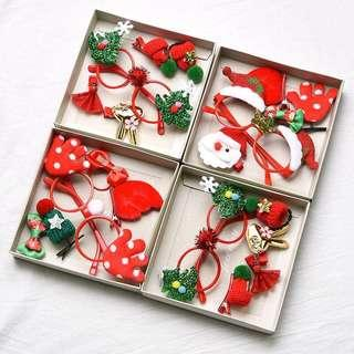 🚚 Limited Item - Christmas Theme Costume/ Hair Accessories Gift Set A065