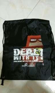 Drawstring bag (Total Defence)