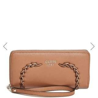 Guess Nessa Large Zip-Around Wallet