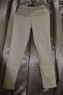 H & M Women's Fitted Beige Pants