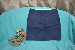 Mango Blue skirt