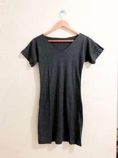 Tee Grey Mini Dress