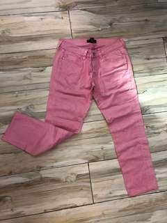 Pink mango pants