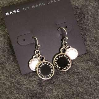 Marc Jacobs Earrings Black/Silver 黑色撞銀色吊耳環