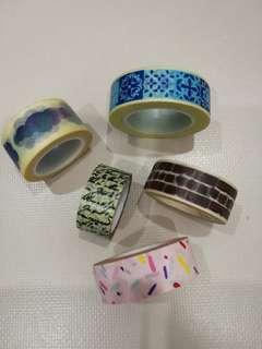 Grab bag ofWashi Tapes