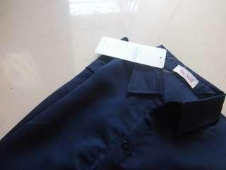 Navy blouse MASIH ADA TAG