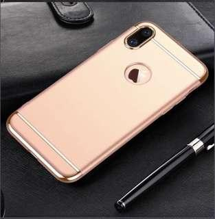 Pink IPhone X Cover Casing Case
