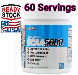 EVLution Nutrition BCAA 5000 Unflavored  (300 g)